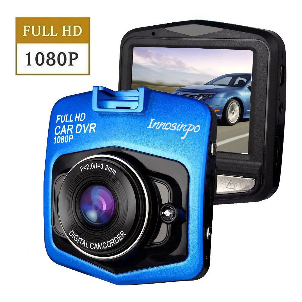 Upgraded Dash Cam Car Camera 1080P FHD Car DVR Dashboard Camera Video Recorder with Night Vision, G-sensor, Loop Recording, Motion Detection and Parking Monitor innosinpo