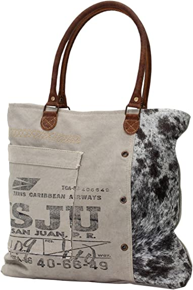 Amazon Com Myra Bag Segmented Life Upcycled Canvas Tote Bag S 0705 Shoes Every #bag is truly handcrafted with spirit of vintage, ethnic and bold look. myra bag segmented life upcycled canvas tote bag s 0705