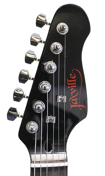 jaxville demon guitare electrique forme st