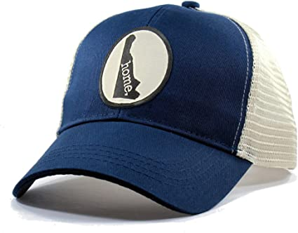 Homeland Tees Mens Delaware Home Patch Trucker Hat