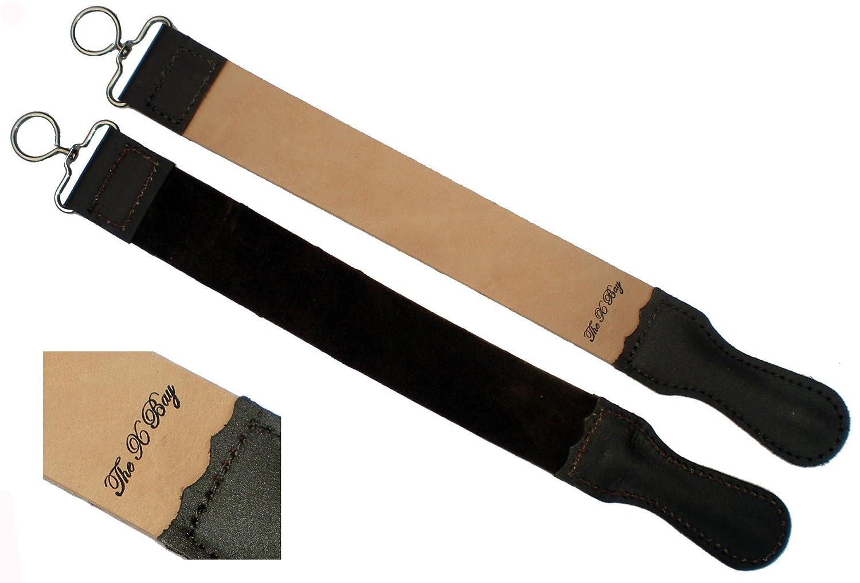 Professional Leather BARBER STROP Straight Razor Sharpener 2 X 20 The X Bay