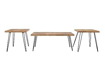 Reclaimed Wood And Metal Furniture Modern Image Unavailable Custommadecom Amazoncom Belmont Home Reclaimed Wood And Metal Tables set Of