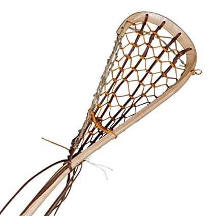 Amazoncom Wooden Lacrosse Stick Field Boot Lace By Justin