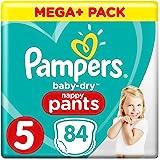 Pampers Baby Dry Pants Gr.5 Junior 12-17kg Mega Plus Pack