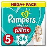 Pampers Baby-Dry Pants (Gr. 5 (12-17 kg), Windeln mit Luftkanälen) 1er Pack (84 Stück)