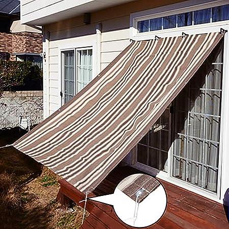 MMZZ Sombra Solar Paño de protección Solar, Malla de Sol 90% Resistente a los Rayos UV, para Cubrir Plantas Pérgola de la Granja de la Perrera de Greenhouse Barn o Piscina: Amazon.es: