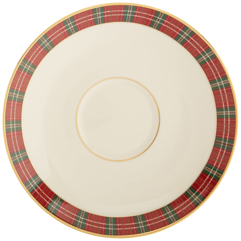 Amazon lenox winter greetings plaid saucer kitchen dining kristyandbryce Choice Image