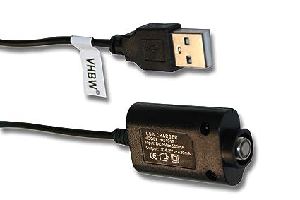 vhbw 0.25m USB Cargador para Ego E-Cigarrillo, Cigarrillo ...