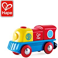 Hape International- Brave Little Engine Locomotora Valiente, Multicolor