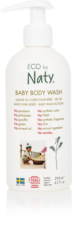 ECO by Naty Organic Baby Body Wash, 6.7 Fl. Ounce NAUJA 07330933252607