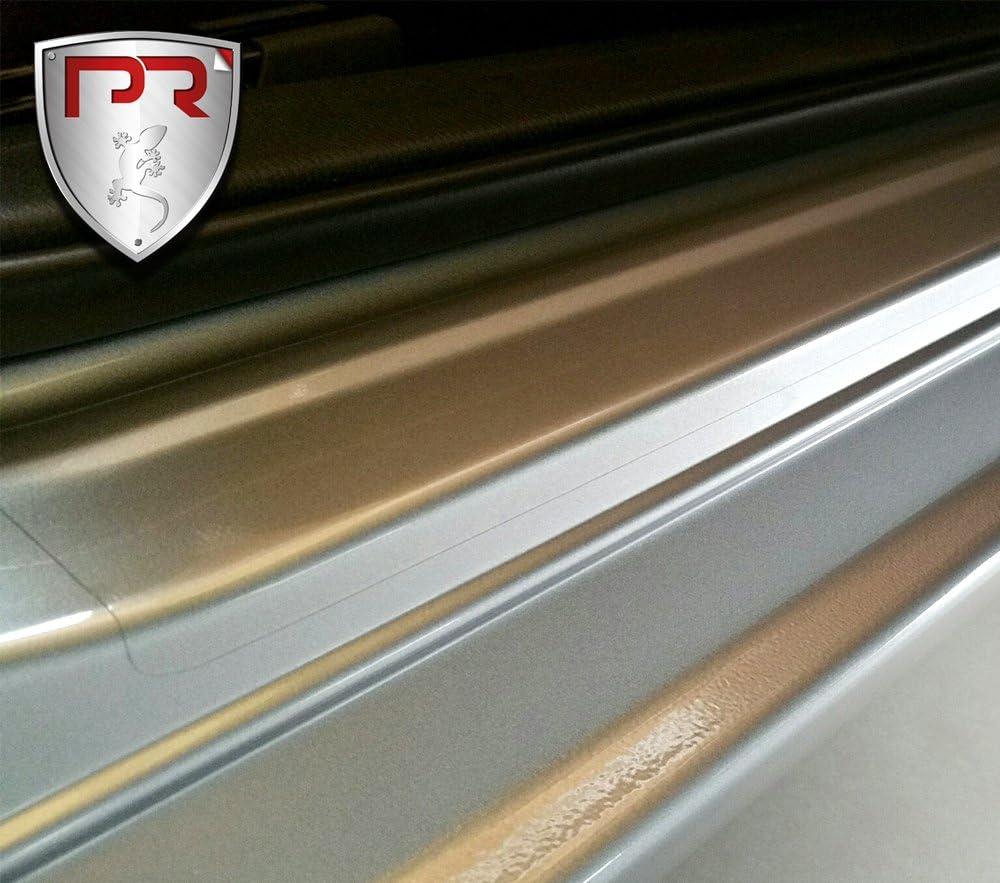 PR-Folia Einstiegsleisten f/ür A3 Sportback Steinschlagschutzfolie Typ 8V ab Bj. 04//2016 passend Lackschutzfolie in Transparent Schutzfolie und Autofolie f/ür T/üreinstiege