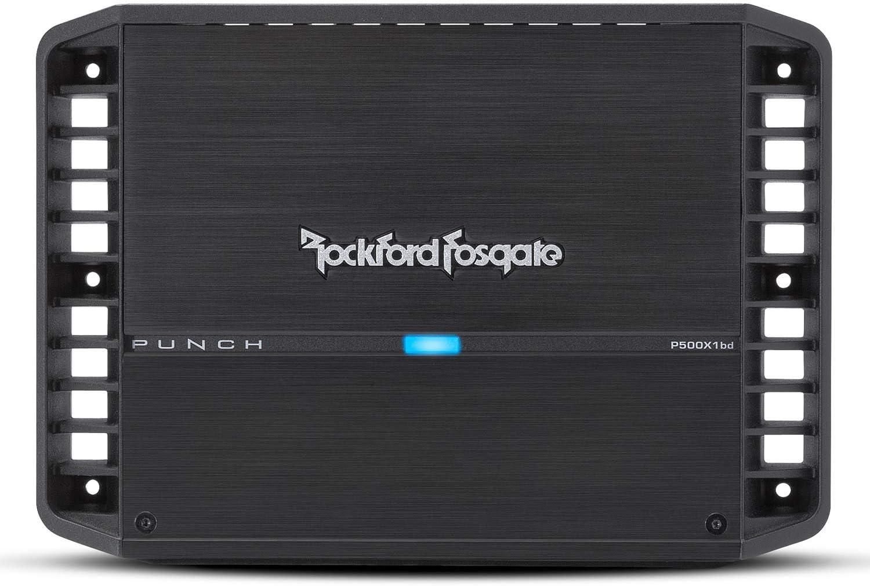 Rockford Fosgate P500X1BD Punch 500 Watt Class-bd Mono Amplifier