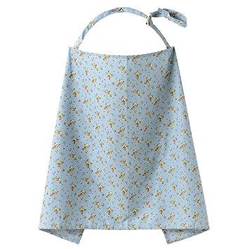 TININNA Enfermería cubierta 100% algodón tapa de la lactancia materna Capa de lactancia delantal enfermería