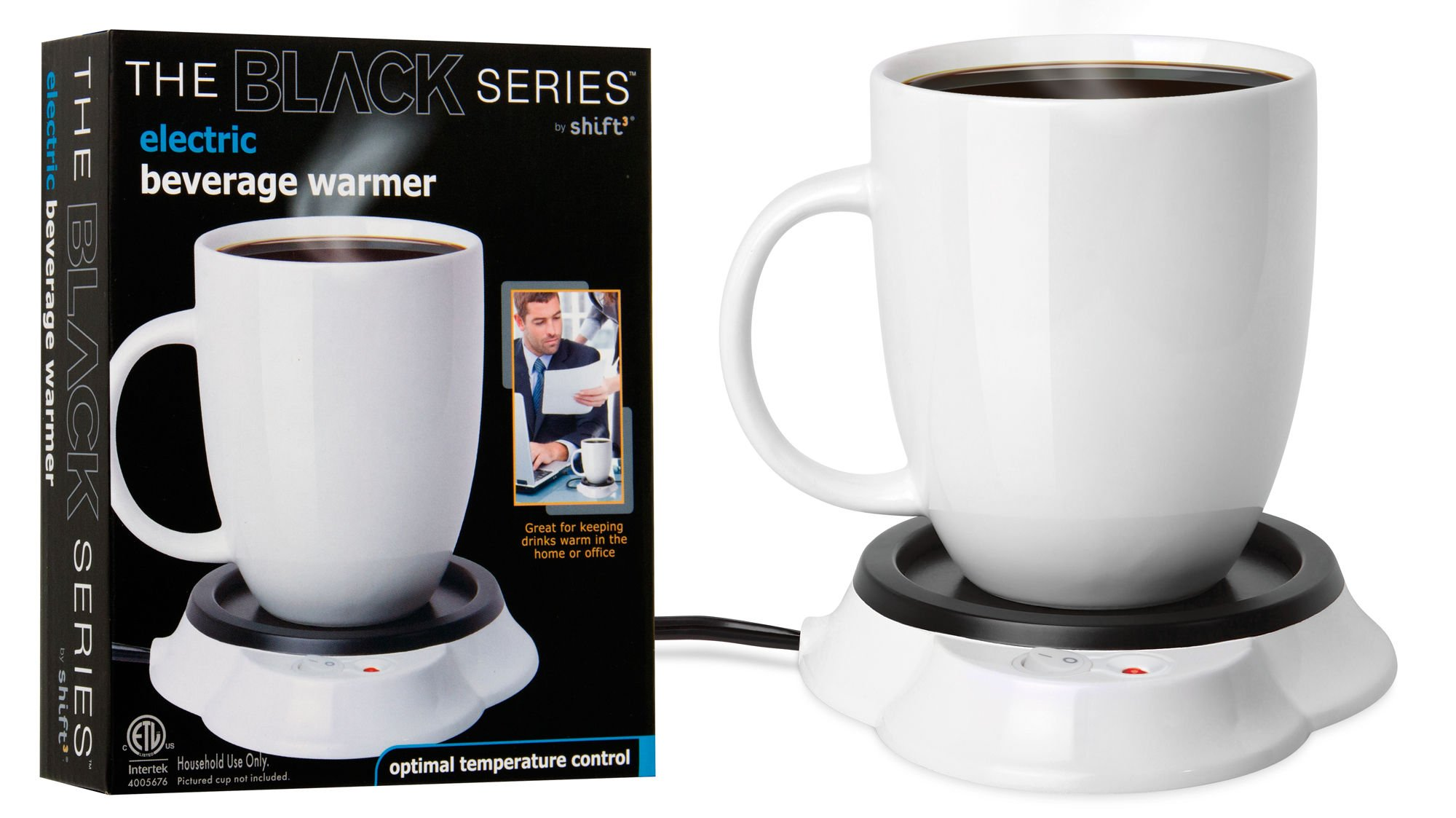 Black Series Electric Beverage Warmer No Size by Shift