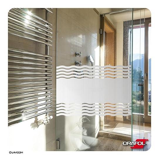 Occultant fenetre salle de bain elegant film vitre opaque - Film vitre salle de bain ...