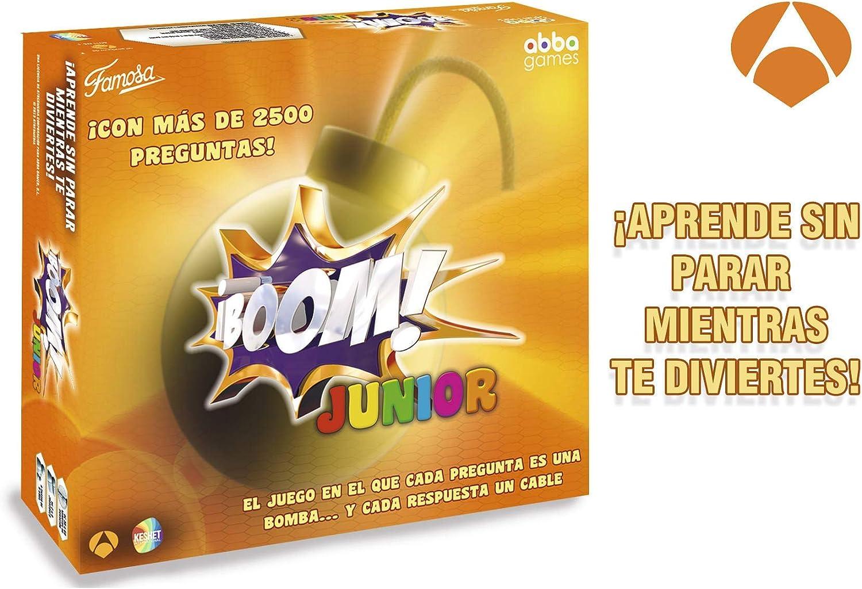 Boom Famogames - Juego de Mesa Adultos (Famosa, 700013151): Amazon ...