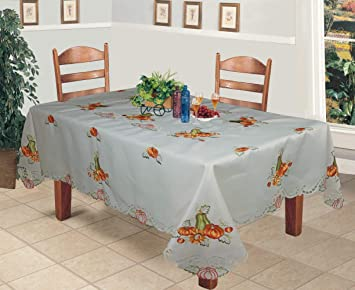 Amazoncom Creative Linens Fall Autumn Harvest Thanksgiving - Thanksgiving-table-cloth