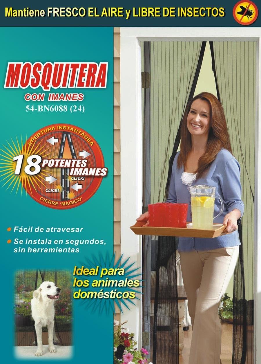 Mosquitera con imanes Cortina magn/ética anti-mosquitos JPWonline