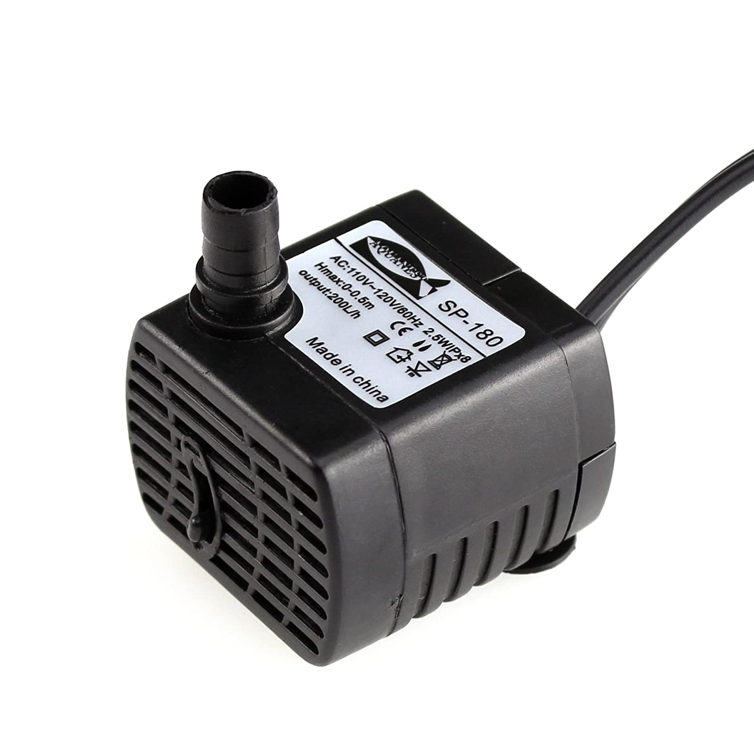 AQUANEAT 50GPH -1060GPH Submersible Water Pump Pond Aquarium Fish Tank Fountain Water Hydroponic
