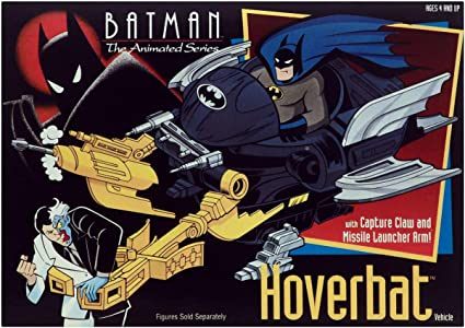 1992  Batman The Animated Series Hoverbat Vehicle Kenner