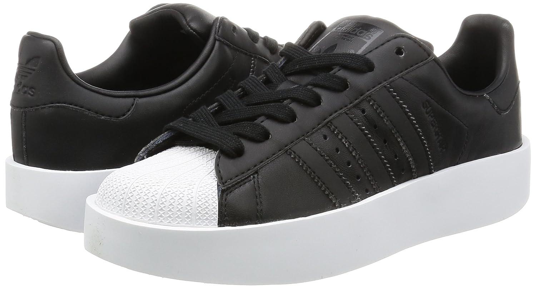 Adidas Damen Superstar Bold W W W Fitnessschuhe, Weißszlig;, 41_1_3 Schwarz (schwarz) fb7531