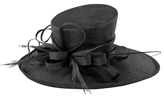 60e07461 Max and Ellie Events Hat in Black, Size: Medium: Amazon.co.uk: Clothing
