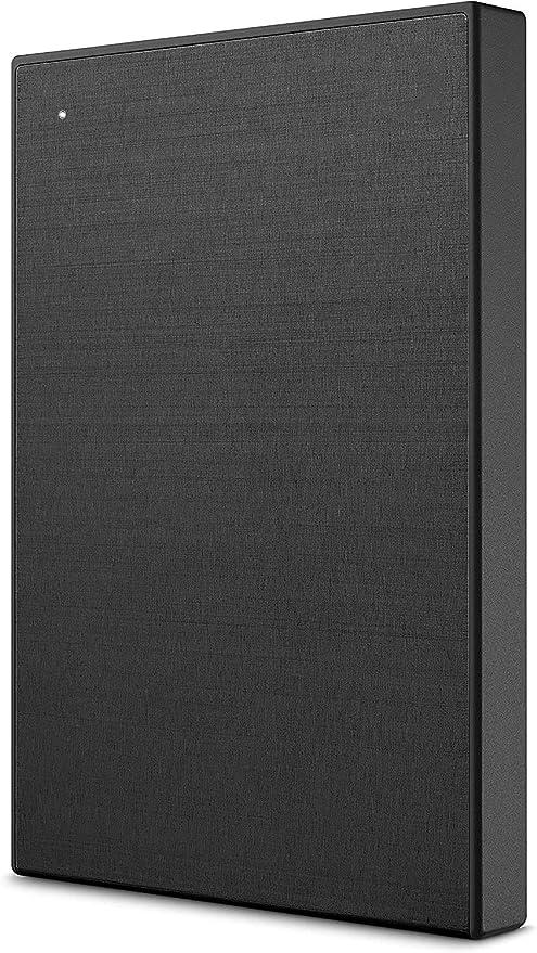Backup Plus超薄型2TB外付けハードドライブポータブルハードドライブ-PC、ノートブック、Mac用のブラックUSB 3.0