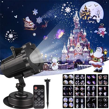 LHY LIGHT Proyector de Navidad Efecto de animación de luz IP65 ...