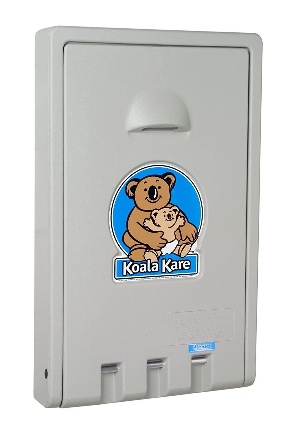 Koala Kare KB Standard Vertical Baby Changing Station Cream - Koala care changing table