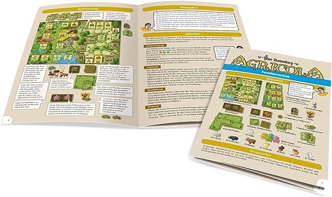 Lookout Games 22160085 – Agricola, Familia Juego de Uwe Rose ...