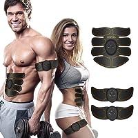 Electrostimulateur Musculaire abdominal, EMS, peut être utilisé pour sculpter, tonifier et masser vos abdos, vos bras, vos jambes et vos fesses. C'est une ceinture de massage aussi -Utile pour les femmes et les hommes. Fitness Sport Maison