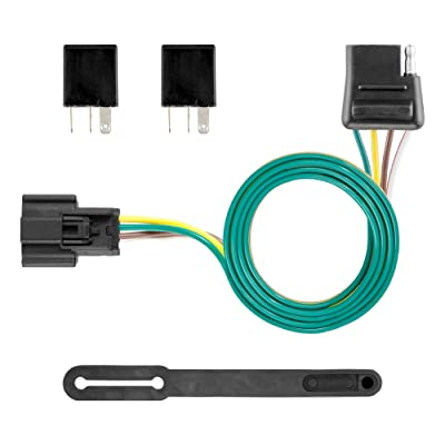CURT 56364 Vehicle-Side Custom 4-Pin Trailer Wiring Harness for Select Buick Envision: Automotive