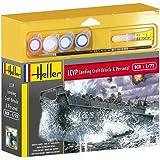 Heller - 49995 - Maquette - LCVP Landing Craft Vehicle & Personal - Echelle 1:72