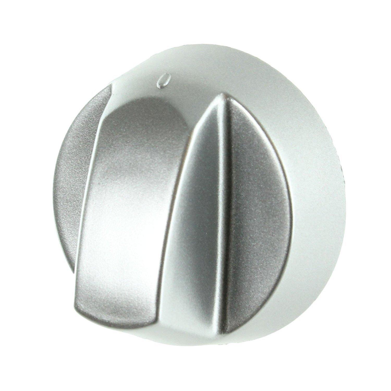 1 Pack de 1, 2, 3, 4/o 6/+ adaptadores, Plata Spares2go mando de control//Dial para Elba horno cocina /& Encimera Pack Quantity