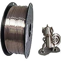 Kehuashina Silk Pla Filament for 3D Printer and Pens, 1kg - 1.75mm Diameter Filament (Deep Rose Gold)