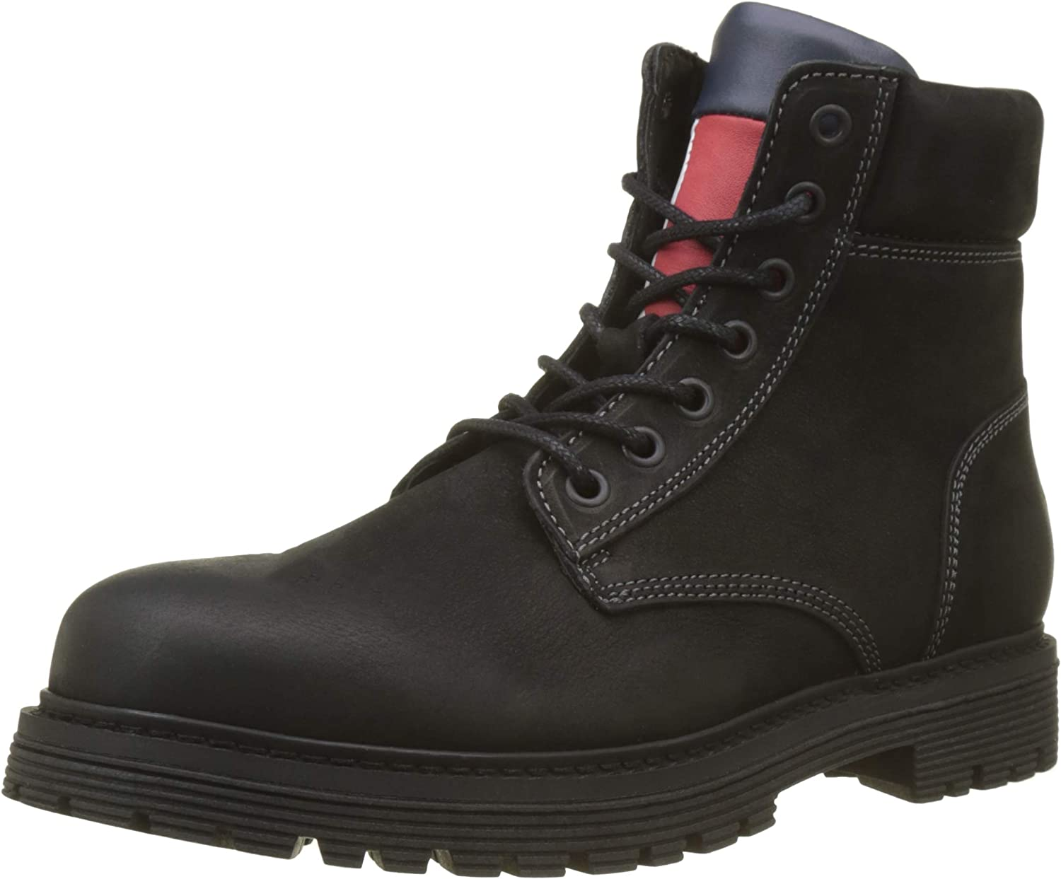 Tommy Jeans Iconic Nubuck Boot, Botas Chukka para Hombre