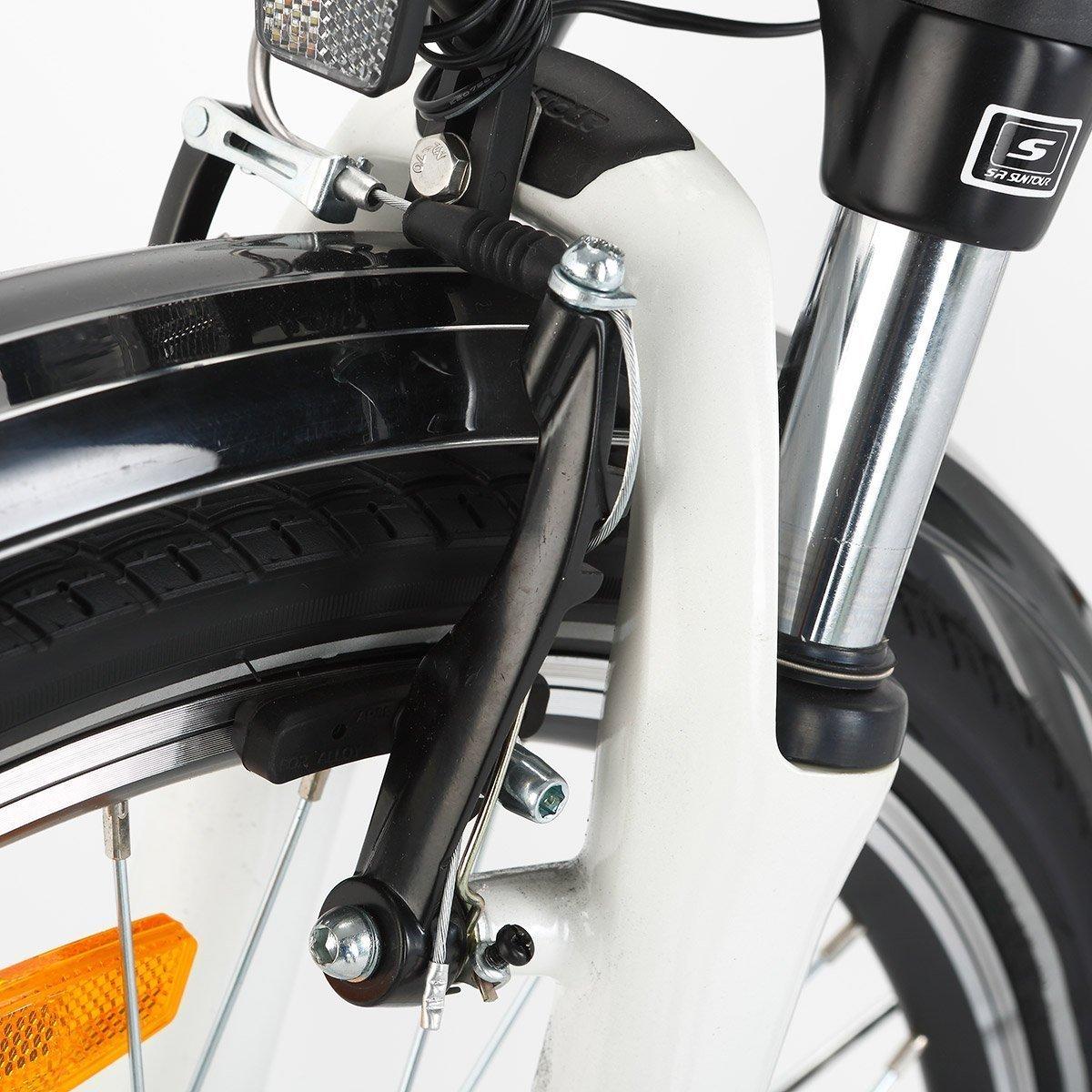 Amazon.com: Onway bicicleta urbana eléctrica de 26 ...