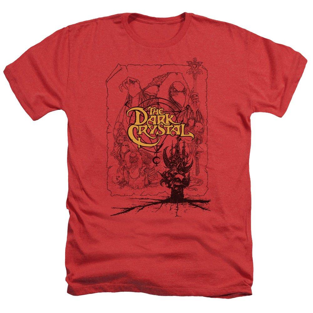 2bhip Dark Crystal 80s Movie Poster Lines Adult Heather Shirts