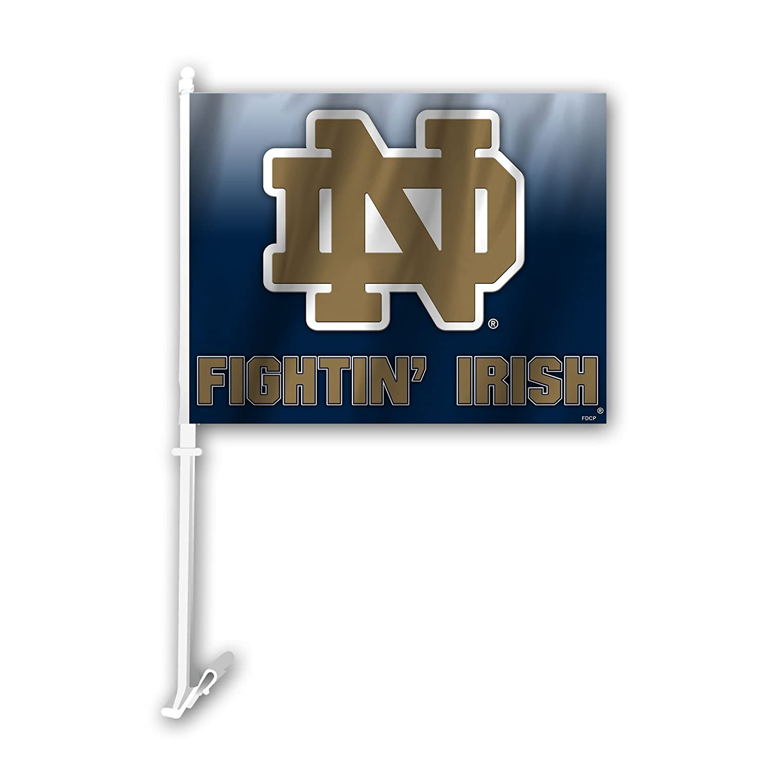 Fremont Die NCAA Notre Dame Car Flags, One Size, Multicolor 59750