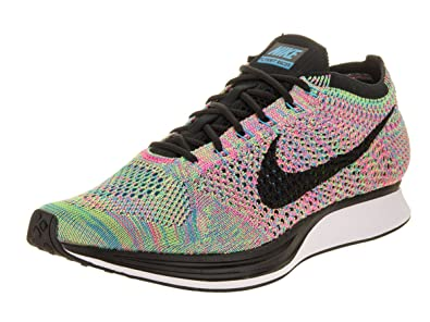 03ccad396b1b Image Unavailable. Image not available for. Color  Nike Flyknit Racer Multi- Color 2.0 quot  - 526628 304