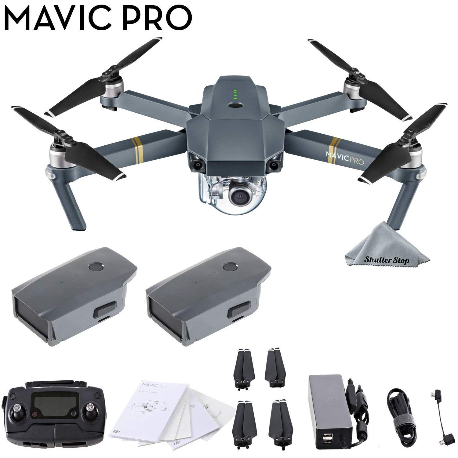 Mavic Pro with Extra Battery Parent