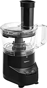 AmazonBasics 4-Cup Food Processor, Black