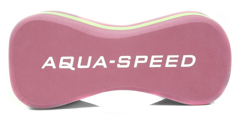 Contorneadas Dise/ño 3 Capas Espuma de EVA Aqua Speed Pull Buoy Natacion Entrenamiento