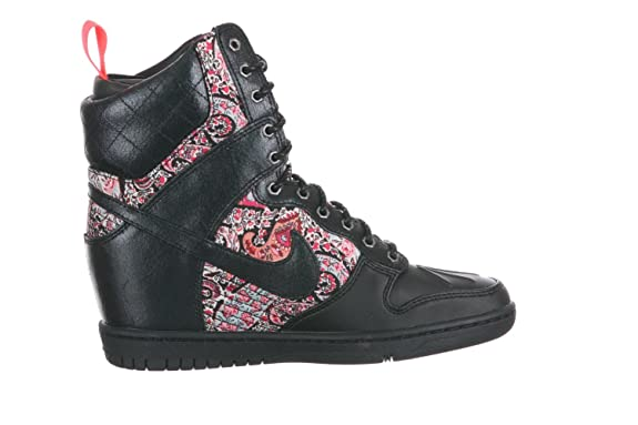 new arrival ca731 57113 NIKE Dunk Sky Hi Liberty Sneakerboot QS (WMNS) Baskets Femme 632180-006-38-7  Rose  Amazon.co.uk  Shoes   Bags