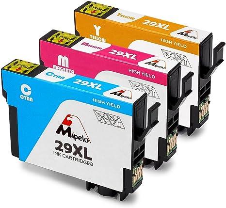 Mipelo Compatible Epson 29XL 29 Cartuchos de tinta, para Epson ...
