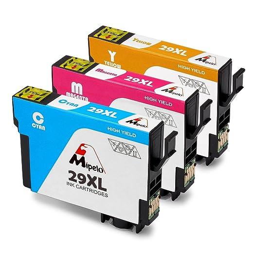 59 opinioni per Mipelo Compatibili Epson 29XL Cartucce d'inchiostro (1 Ciano,1 Magenta,1