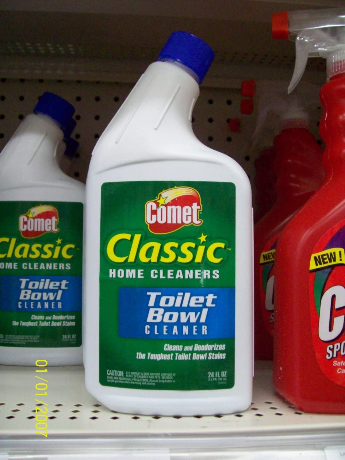Comet Classic Toilet Bowl Cleaner 24 Fluid Ounce (Pack of 2)