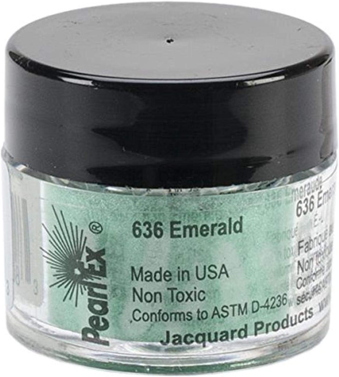 Jacquard Pearl Ex Powdered Pigment 14g-Emerald