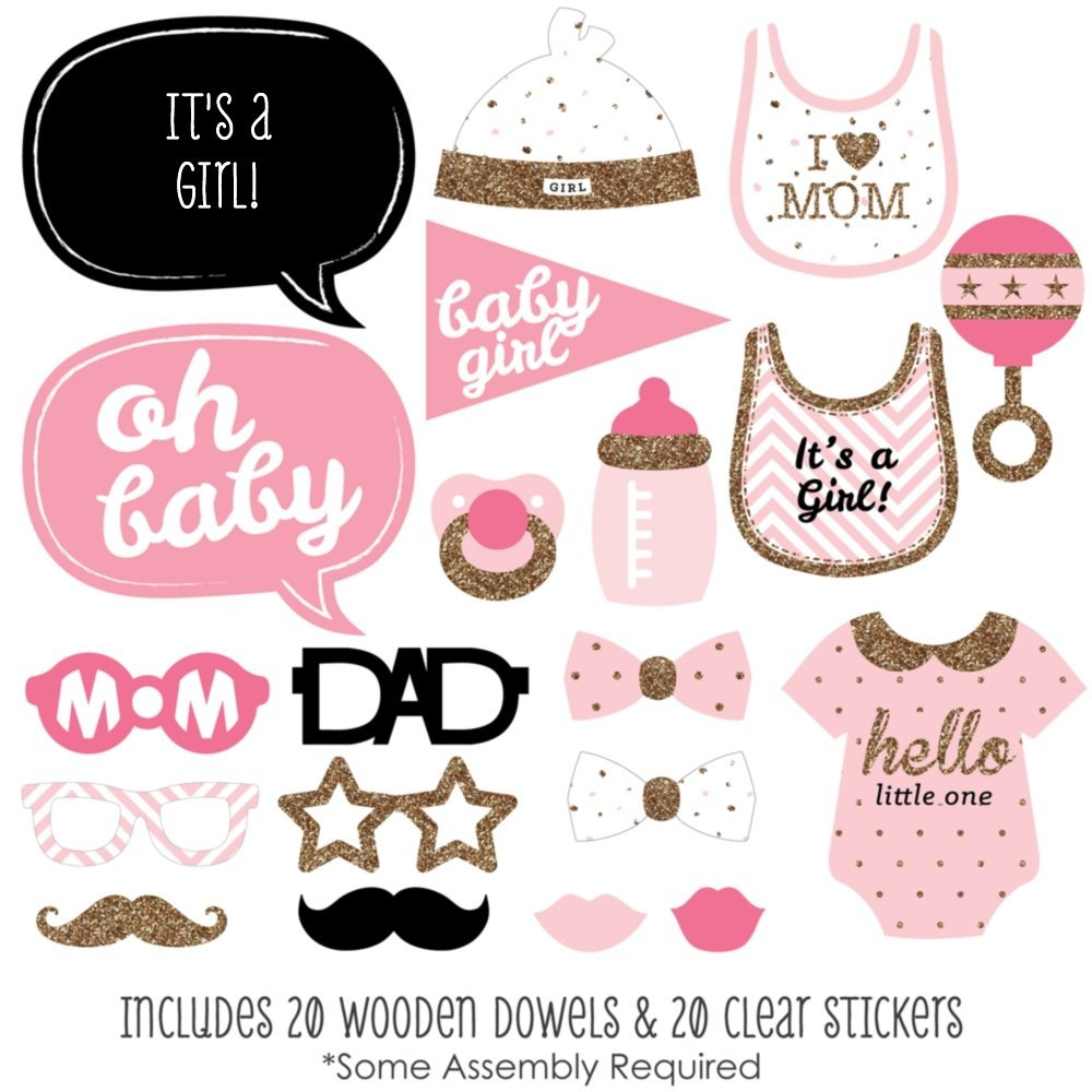 picture regarding Baby Shower Photo Booth Props Printable known as Howdy Tiny A single - Purple and Gold - Woman Kid Shower Image
