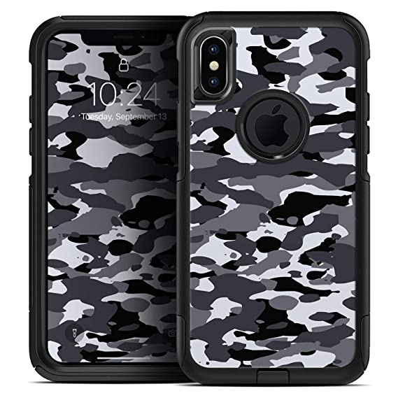 watch f6a85 7013b Amazon.com: Traditional Black & White Camo - Skin Decal Kit for The ...
